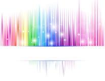 Espectro abstracto Fotos de archivo libres de regalías
