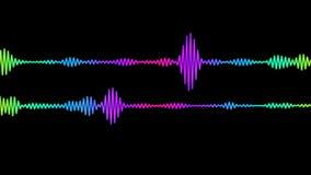 Espectro audio de Digitas vídeos de arquivo