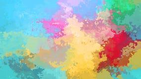 espectro completo video manchado animado del color en colores pastel del lazo inconsútil del fondo metrajes