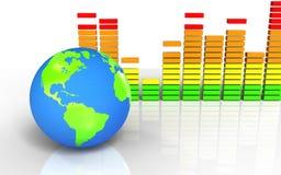 espectro 3d audio vazio Imagem de Stock