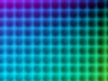 Espectro de color azul Foto de archivo libre de regalías