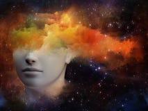 Espectro de la mente Imagen de archivo libre de regalías