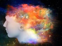 Espectro de la mente stock de ilustración