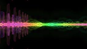 Espectro de la onda acústica Imágenes de archivo libres de regalías