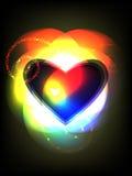 Espectro de la tarjeta del día de San Valentín Imagen de archivo libre de regalías