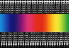 Espectro do engranzamento e do arco-íris ilustração stock