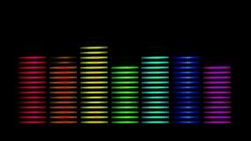 Espectro llano del arco iris stock de ilustración