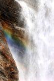 Espectro nas cachoeiras de Lillaz, Italy Fotos de Stock Royalty Free