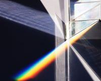 Espectro y prisma Foto de archivo libre de regalías