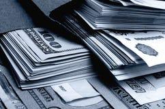 especulação do urrency do  de Rublo-dólar Ñ Imagem de Stock