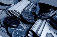 Especulación del urrency del  del dólar Ñ de la rublo Fotografía de archivo