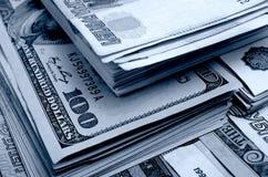 especulación del urrency del  del Rublo-dólar Ñ Imágenes de archivo libres de regalías
