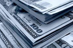 especulación del urrency del  del Rublo-dólar Ñ Foto de archivo libre de regalías