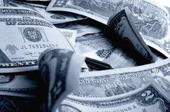 especulación del urrency del  del Rublo-dólar Ñ Fotos de archivo libres de regalías