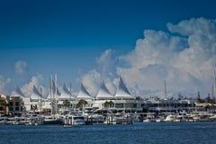 Espejismo del puerto deportivo, Gold Coast Imágenes de archivo libres de regalías