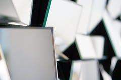 Espejo abstracto Primer imagen de archivo