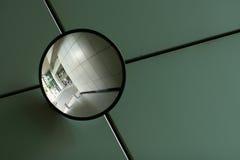 Espejo curvado Fotos de archivo libres de regalías