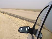 Espejo de coche Foto de archivo libre de regalías