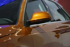 Espejo de coche fotos de archivo libres de regalías
