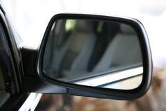 Espejo de coche imagenes de archivo