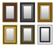 Espejo de la foto del cuadro del marco Fotografía de archivo libre de regalías