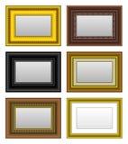 Espejo de la foto del cuadro del marco Foto de archivo