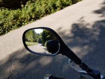 Espejo de Moto fotografía de archivo libre de regalías