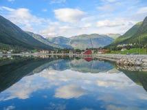 Espejo de Noruega Fotos de archivo