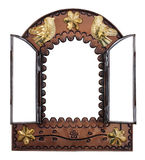 Espejo decorativo de la pared imágenes de archivo libres de regalías