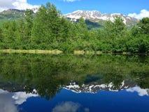 Espejo del agua Imagenes de archivo