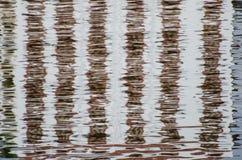 Espejo en el lago Imágenes de archivo libres de regalías