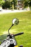 Espejo exterior Imagen de archivo libre de regalías