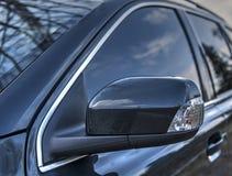 Espejo lateral del coche Foto de archivo