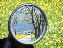 Espejo posterior Imágenes de archivo libres de regalías