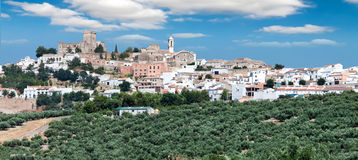Espejo, Province Cordoba, Spain Stock Photography