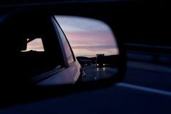 Espejo retrovisor Foto de archivo