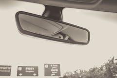 Espejo retrovisor Fotos de archivo libres de regalías