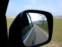 Espejo retrovisor Fotografía de archivo libre de regalías