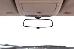 Espejo retrovisor del coche imagen de archivo