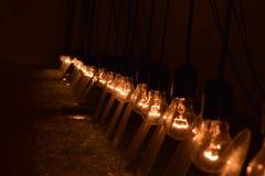 Espejos de las luces e fotografía de archivo