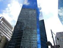 Espejos de Nueva York imagen de archivo libre de regalías