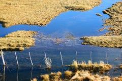 Espejos del agua Foto de archivo libre de regalías