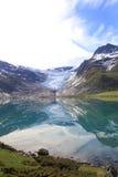 Espejos del glaciar de Svartisen Fotos de archivo