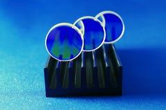 Espejos del laser fijados foto de archivo libre de regalías