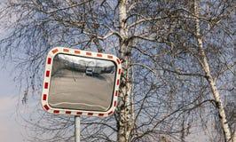 Espejos del tráfico Foto de archivo libre de regalías