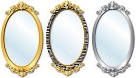 Espejos elegantes Imagen de archivo libre de regalías