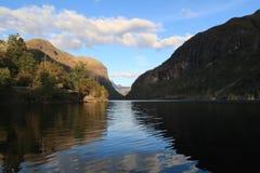 Espelandsvatnet, Noruega Fotografia de Stock Royalty Free