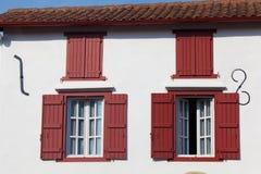 espelettefönster Arkivfoto