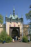 Espelhe o labirinto no monte de Petrin em Praga, República Checa Imagens de Stock