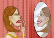 espelho Fotografia de Stock